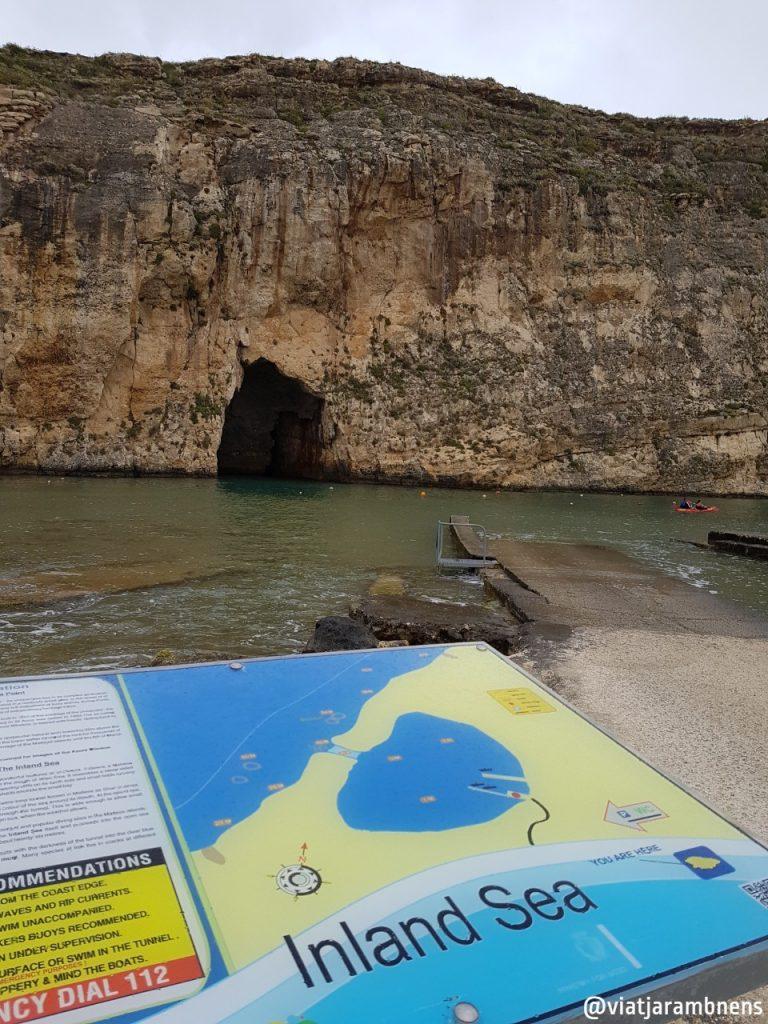 Mar interior de Dwejra