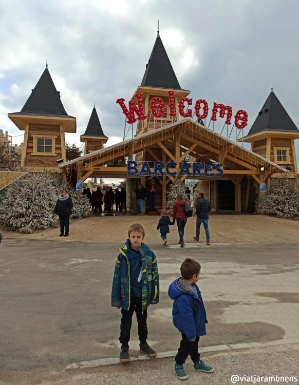 Entrada al Village de Noël